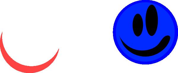 Blue Face Clip Art At Clker Com Vector Clip Art Online