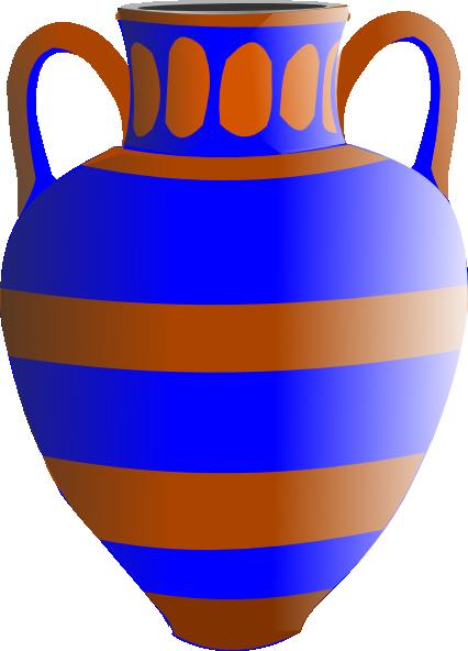 Vase With Handles Clip Art At Clker Vector Clip Art Online