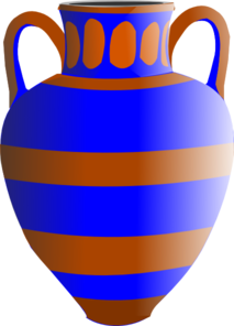 Vase With Handles Clip Art at Clker.com - vector clip art ...