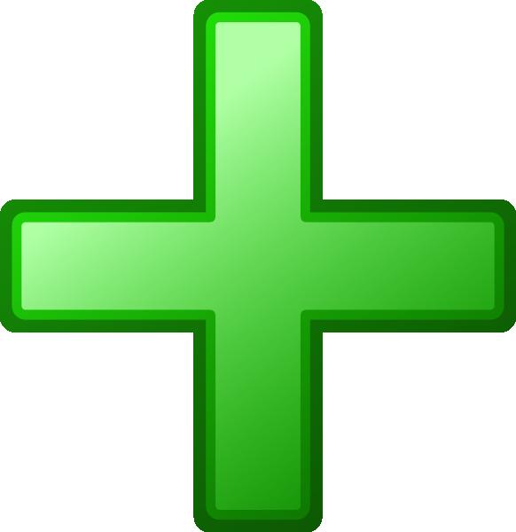 Green Cross Clip Art At Clker Vector Clip Art Online Royalty