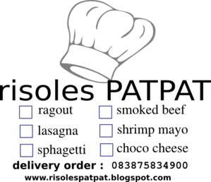 risol patpat hitam clip art