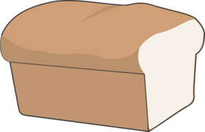 Loaf Of Bread, With No Separate Pcs. Clip Art