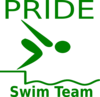 Pride Swim Team Clip Art