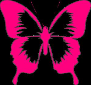 pink butterfly clip art at clker com vector clip art online rh clker com pink and purple butterfly clipart pink and gold butterfly clipart