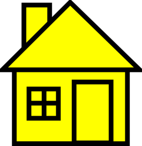 Yellowhouse Clip Art