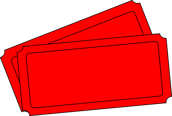 Edit Ticket Template Clip Art at Clkercom vector clip art