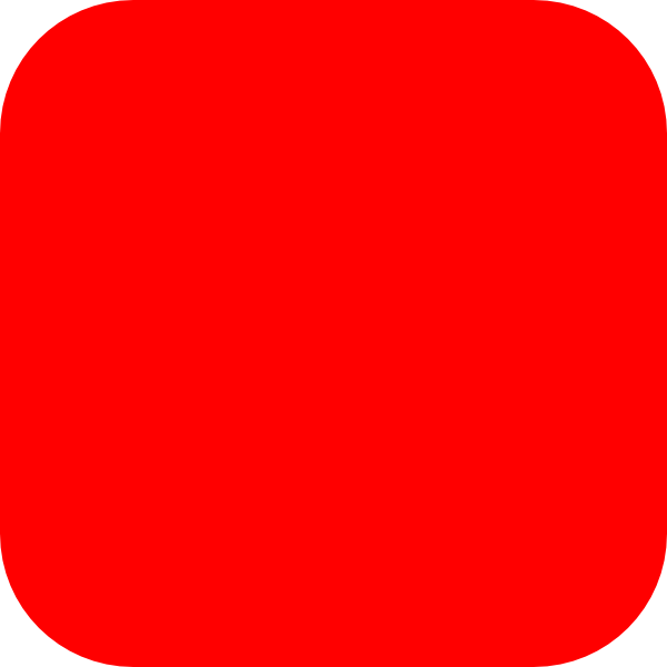 Red, Rounded, Square Clip Art at Clker.com - vector clip ...