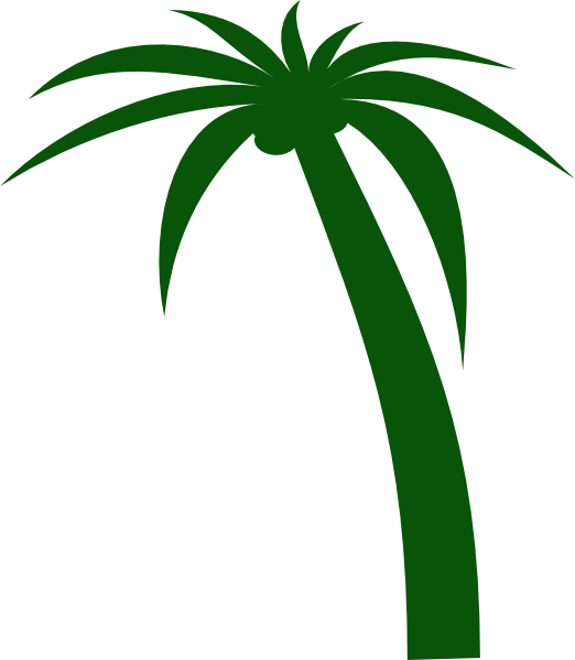 Coconut Tree Clip Art at Clker.com - vector clip art online, royalty ...