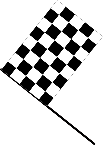 free race car flag clip art - photo #29