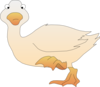 Duck Walking Clip Art
