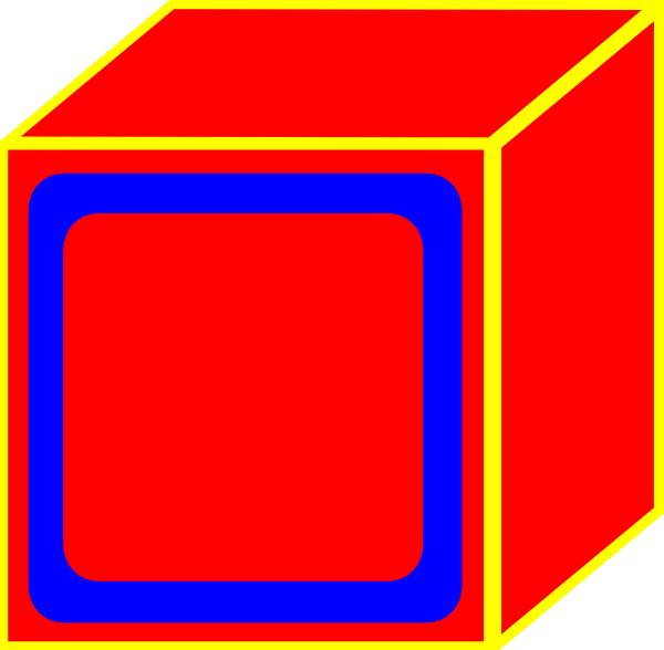 red block clip art at clker com vector clip art online royalty rh clker com black clip art images black clip art