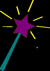 star wand clip art at clker com vector clip art online royalty rh clker com magic wand clipart princess wand clipart
