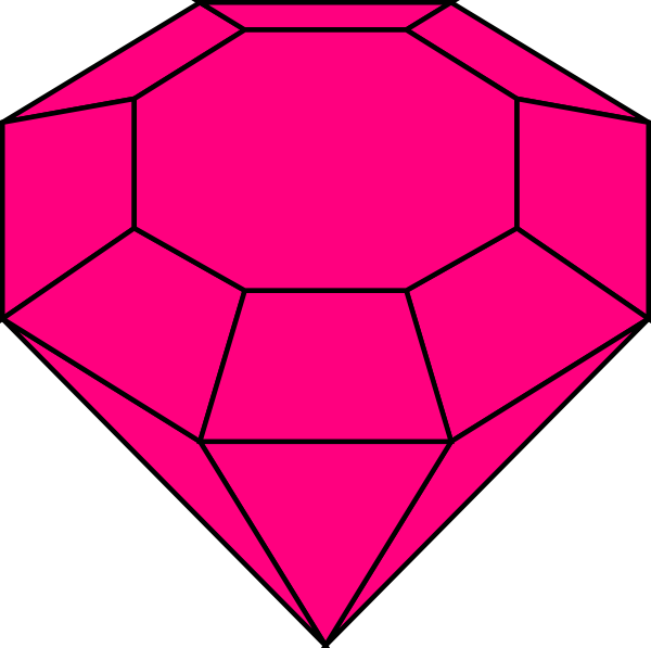 pink gem 2 clip art at clker com vector clip art online royalty rh clker com game clip art free online gem clip art images
