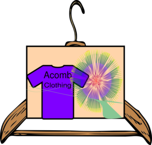 Acomb Clothing Clip Art