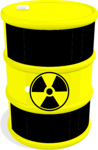 Barrel Yellow Black Bio-hazard Clip Art