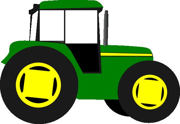 Green Tractor Clip Art : Tractor empty cab clip art at clker vector