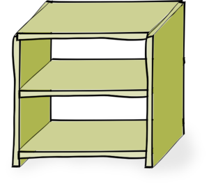 Shelves Clip Art