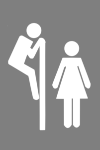 Wc Sign Clip Art