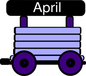 Loco Train Carriage Purple Clip Art