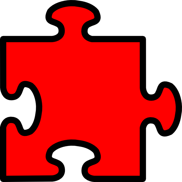 Puzzle Piece Clip Art at Clker.com - vector clip art ...
