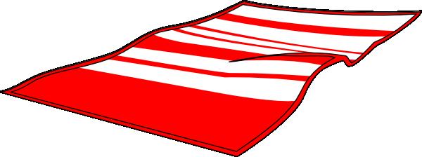Red Beach Towel Clip Art at Clker.com - vector clip art online ...