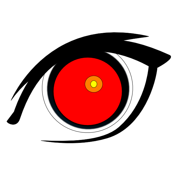 red eye clip art at clker com vector clip art online royalty free rh clker com free clipart eye images