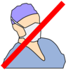 Doctor With Mask Not Available Clip Art