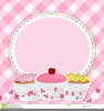 Pink Gingham Clipart Image