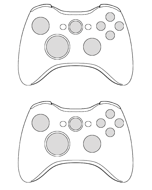 Xbox One Controller Outline