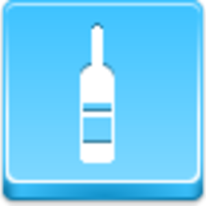 Free Blue Button Icons Wine Bottle Image
