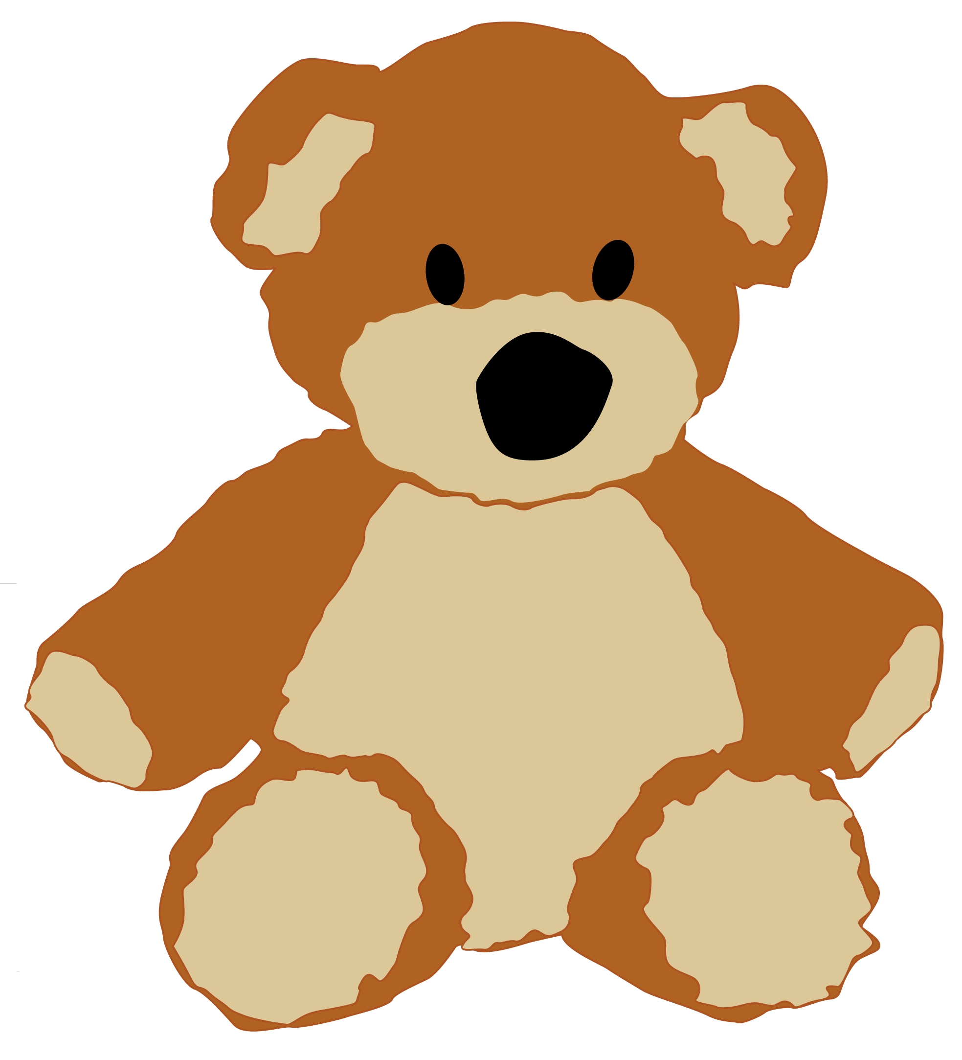 Teddy | Free Images at Clker.com - vector clip art online, royalty ...