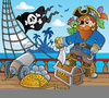 Free Clipart Pirate Ship Image