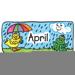 April calendar. Free clipart images at