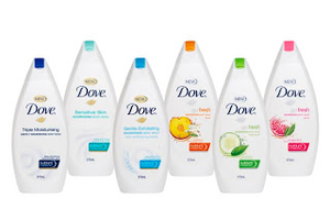 Dove Body Wash Image