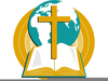 Clipart Of Bibles And Crosses Image