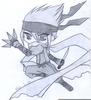 Ninja Anime Drawing Image