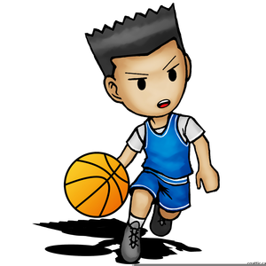 boy basketball player clipart free images at clker com vector rh clker com clip art basketball player silhouette clipart basketball player dunking