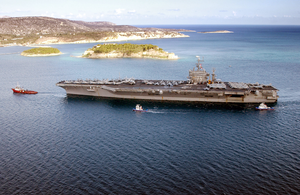 Uss Harry S. Truman (cvn 75) And Carrier Air Wing Three (cvw-3) Image
