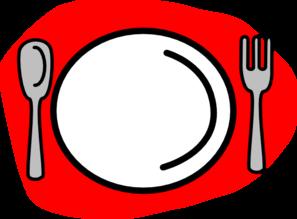 spoon plate fork clip art at clker com vector clip art online rh clker com spoon and fork clipart fork knife spoon clipart