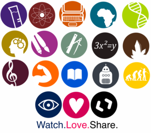 School Subjects Icons Logos By Art Acolyte Image