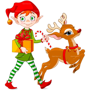 Christmas Elves Clipart Free.Girl Christmas Elf Clipart Free Images At Clker Com