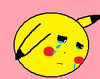 Crying Cartoon Ball Image