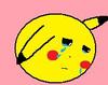 Crying Cartoon Ball Image
