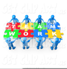 Clipart Working Together Team Image