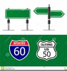 Interstate Clipart Image
