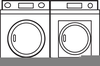 Free Clothes Dryer Clipart Image