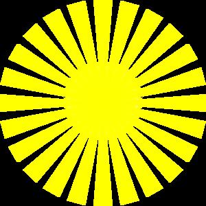 yellow sun rays clip art at clker com vector clip art online rh clker com vector sun rays logo vector sun rays photoshop