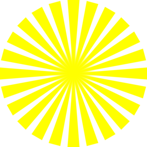 yellow rays vector - photo #9