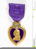 Military Purple Heart Clipart Image