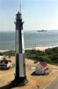 Cvn 71 Passes Lighthouse Image
